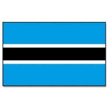 Polyester vlag botswana