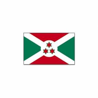 Polyester vlag burundi