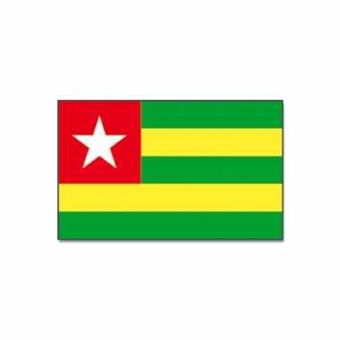 Polyester vlag togo