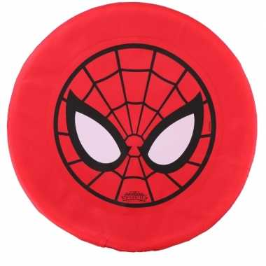 Rode marvel spiderman frisbee buitenspeelgoed