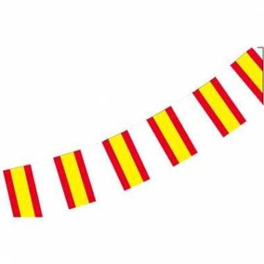 Spaanse vlaggenlijn van papier