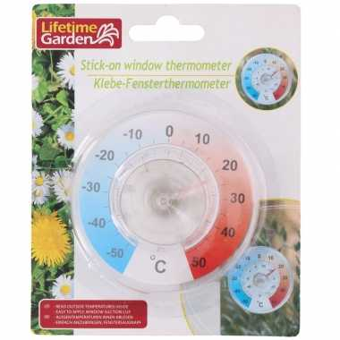 Thermometer op zuignap 9 cm