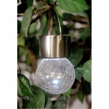 Tuin lamp bolletje met led licht