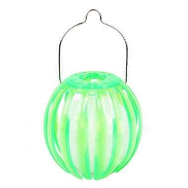 Tuinfeest lantaarn groen 11 cm