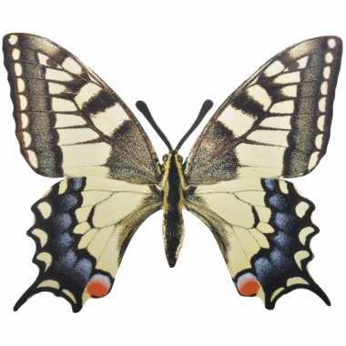 Tuinversiering koninginnenpage vlinder 25 cm
