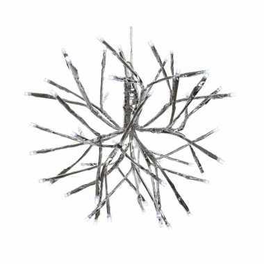 Verlichte Takkenbol 25 Cm Led Kerstverlichting Voor Binnen Buiten