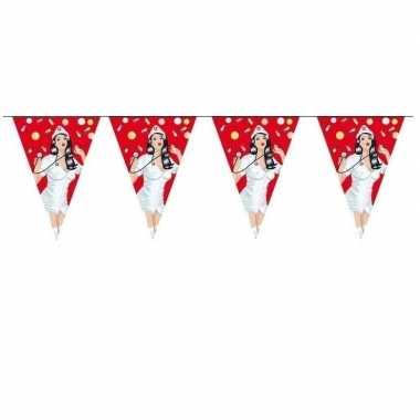 Verpleegkundige vlaggenlijn zes meter