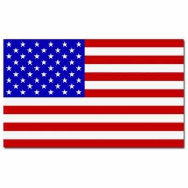 Vlag van amerika 90x150 cm