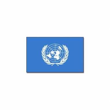Vlag van de verenigde naties 90x150 cm