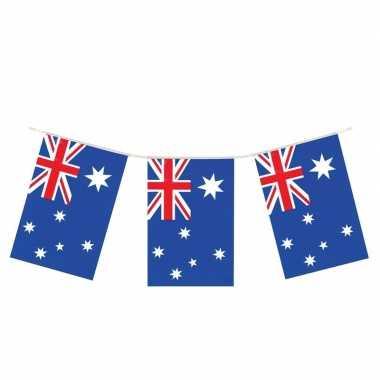 Vlaggenlijn australie 4 meter landen decoratie