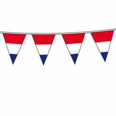 Vlaggenlijn hollandse vlag 10 meter