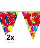2x leeftijd slingers 13 jaar 10 meter
