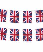 2x nationale vlag engeland vlaggenlijnen