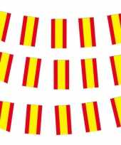 3x spaanse vlaggenlijn van papier