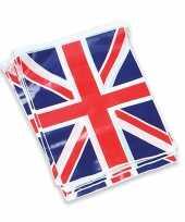 3x stuks groot brittannie vlaggenlijnen van 7 meter