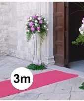 Babyshower artikelen 3 meter lichtroze loper 1 meter breed