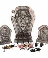 Decoratie kerkhof met lichtjes 24 delig