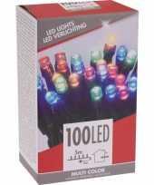 Gekleurde budget boomverlichting binnen en buiten 100 lampjes