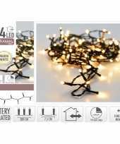Kerstverlichting 24 warm witte lampjes op batterij 2 meter met timer