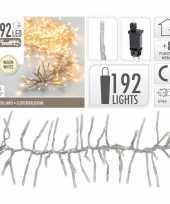 Kerstverlichting cluster warm wit 192 lichtjes
