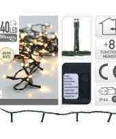 Kerstverlichting warm wit buiten 240 lampjes 24 meter