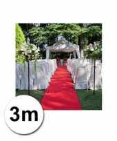 Loper in de kleur rode 1 bij 3 meter