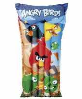 Opblaasbare angry birds bedden 91 cm luchtbedden luchtmatrassen buitenspeelgoed