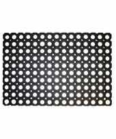 Rubberen deurmat buitenmat 60 x 40 cm