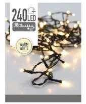 Verlichting led warm wit 21 meter 240 lichtjes 10174298