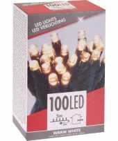 Warm witte budget boomverlichting binnen en buiten 100 lampjes
