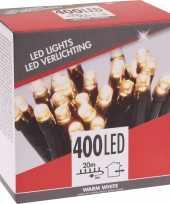 Warm witte budget boomverlichting binnen en buiten 400 lampjes
